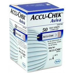 Accu Check Aviva strips 50