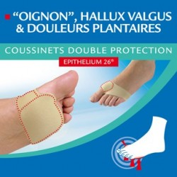 Epitact Coussinet Double Protection 1 paire